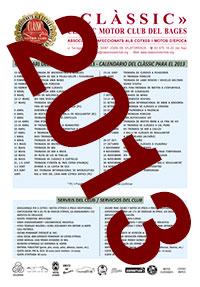 Calendari Classic Motor Club Calendario 2013
