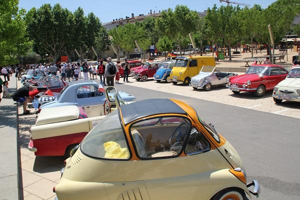 Sitges vivirá un Encuentro Internacional de Microcoches Clásicos de récord con más de 100 vehículos inscritos