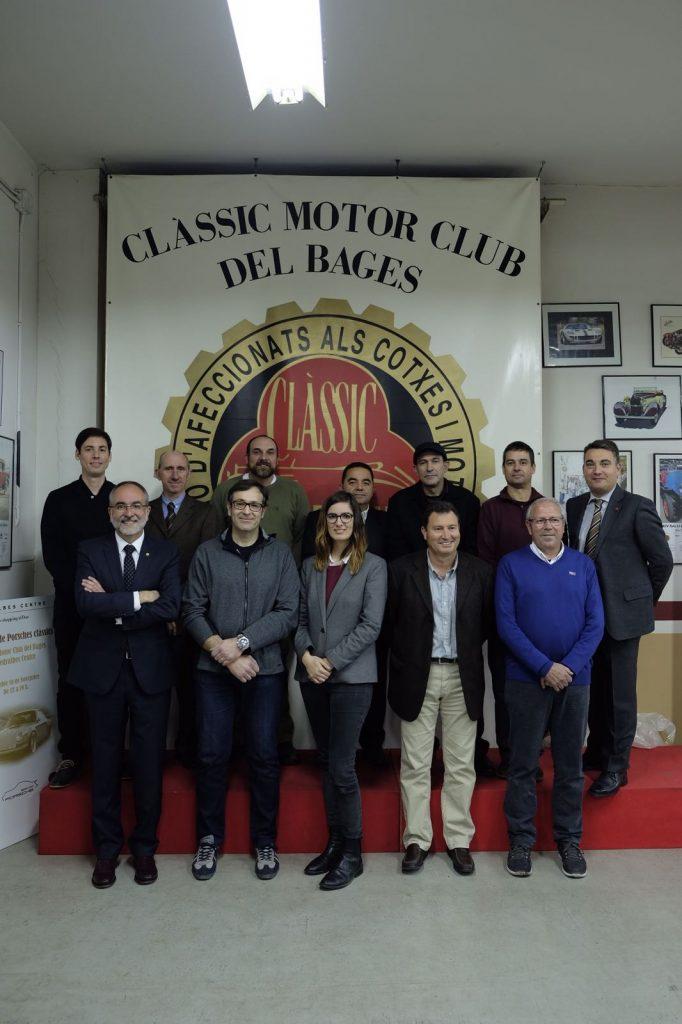 Junta Directiva del Clàssic Motor Club del Bages