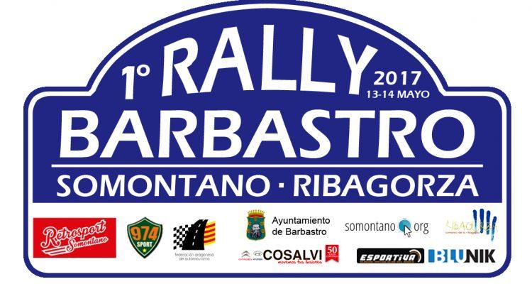 Colaboramos con el Rally de Barbastro, 13 y 14 de mayo