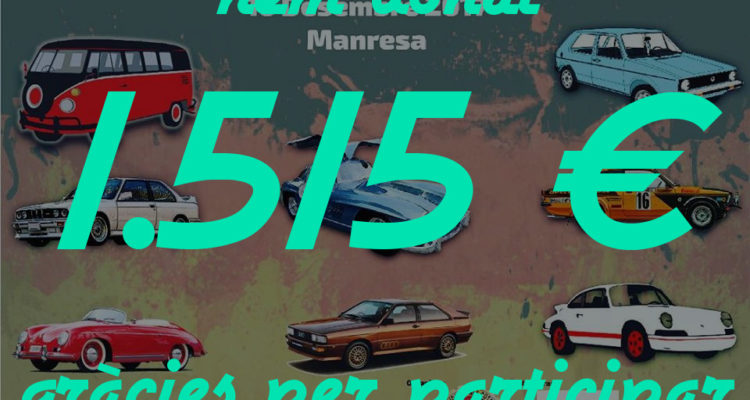 Donación a la Fundación La Marató de TV3 de la Trobada de German Cars