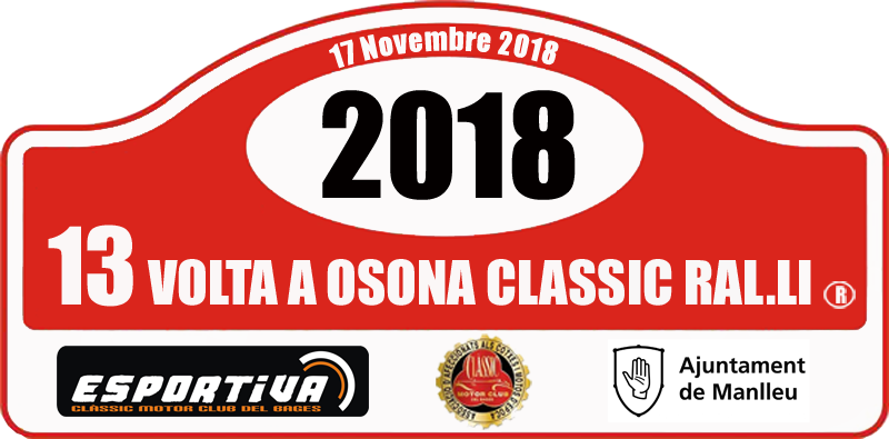 Galería de fotos de la 13ª Volta Osona Clàssic Ral·li