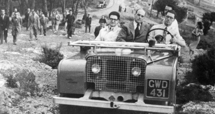El Clàssic Motor Club del Bages col·labora amb la commemoració del 70 aniversari de la presentació del Land Rover a Barcelona