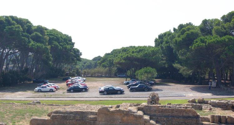 Els Porsche del Clàssic, de ruta per l'Empordà en la 33a sortida de la secció