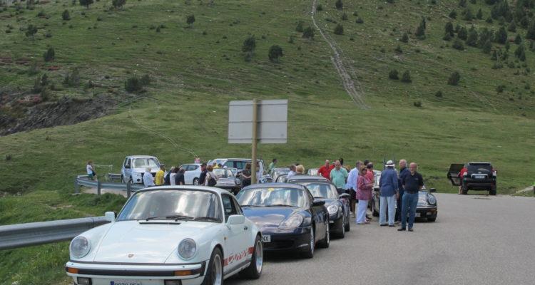 Así fue la salida de verano de la sección Porsche por Andorra