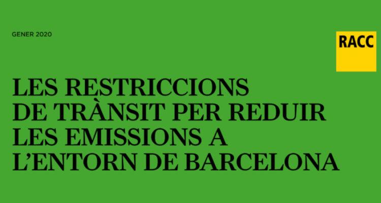 Guia d'usuari per a les restriccions a la ZBE de Barcelona