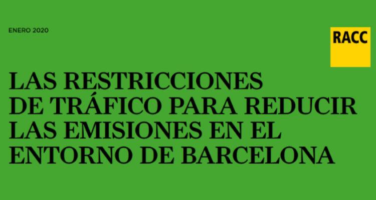 Guía de usuario para las restricciones a la ZBE de Barcelona