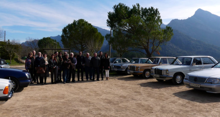 La II Salida de la Sección Mercedes, de primaveral escudellada