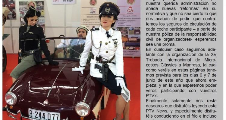 "YA DISPONIBLE EL MAGAZINE ""PTV NEWS"" NÚM.34"