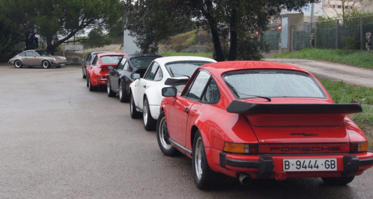 XXXI Sortida de la Secció Porsche per trams del ral·li Costa Brava