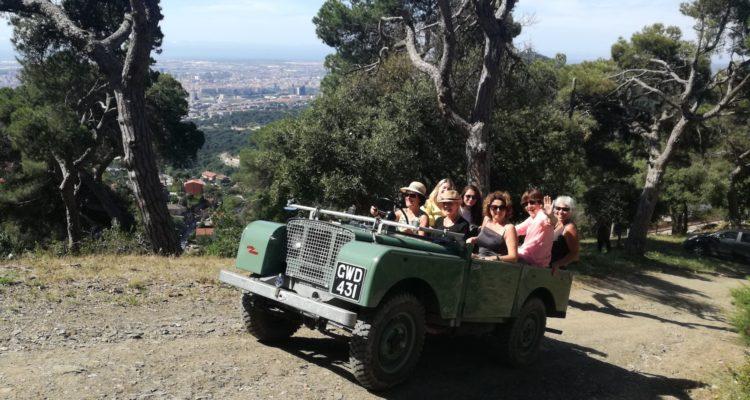 70 aniversario de la presentación del Land Rover en Barcelona