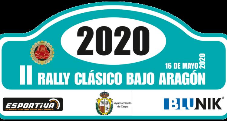 Ajornat el II Rallye Clásico Bajo Aragón 2020