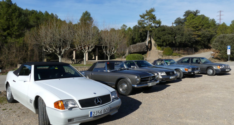 Galeria fotogràfica de la II Sortida de la Secció Mercedes