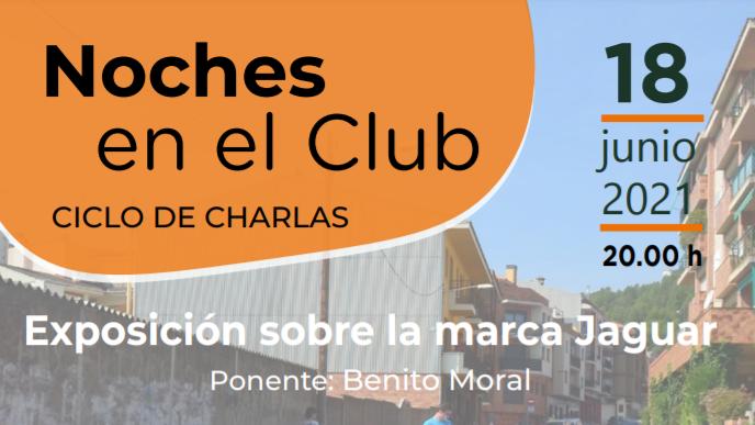 """Nuevo ciclo de charlas: """"Noches en el Club"""""""