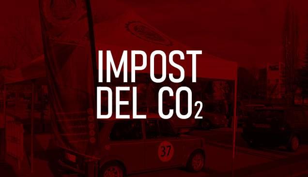 Impost CO2: els vehicles de baixa temporal voluntària seran bonificables